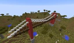 Suspension Bridge Minecraft Project