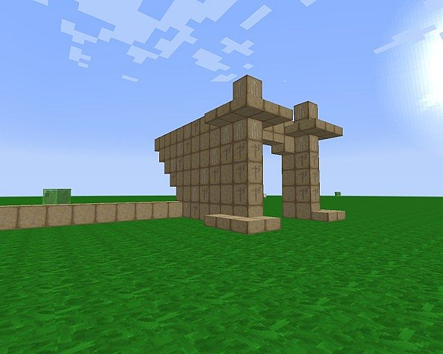 Viewed with a Resource pack on.