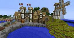 Small Port Town Minecraft Map & Project
