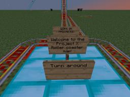 Project X roller coaster Minecraft Map & Project