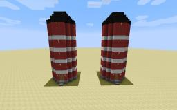 Automatic Storage Silo with a lot of space Minecraft Map & Project