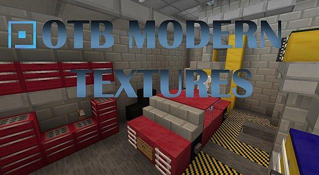 [16x16][1.7.x] — OTB Modern Textures —  Отличный ресурс-пак в модерн стиле.