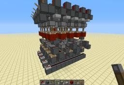 Compact, and Expandable Memory cell Minecraft Map & Project