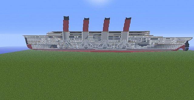 RMS 'Lusitania' - by Pepsi4815162342&xxJakinatorxx Minecraft Project