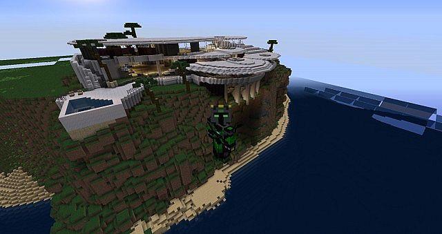 Tony Stark Iron Man 39 S House Minecraft Project