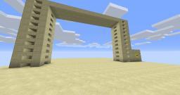 10x15 Sand Door Minecraft