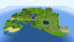 Legend of Zelda : Phantom Hourglass Mercay Island Minecraft Map & Project