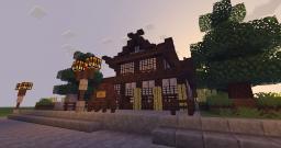 Onsen Ryokan - 温泉 旅館 (Japanese Inn) Minecraft Map & Project