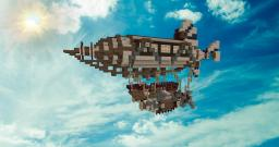 SteamPunk Ship Minecraft Project