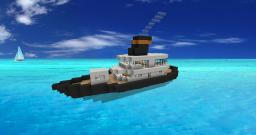 Tug Boat! Minecraft Map & Project