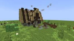 Medieval-Cottage Minecraft Project