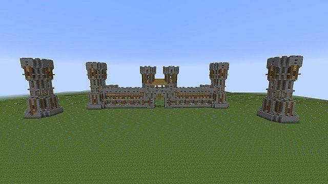 medieval wall pack schematics minecraft project rh planetminecraft com castle wall schematic wall e schematics