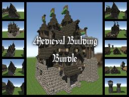 Medieval Building Bundle - 75 Sub special Minecraft Map & Project