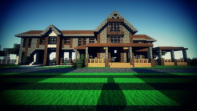 Country Home Ranch House By Goldeneye33 Minecraft
