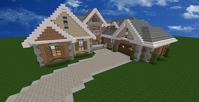 Claire Family Home. Minecraft Project