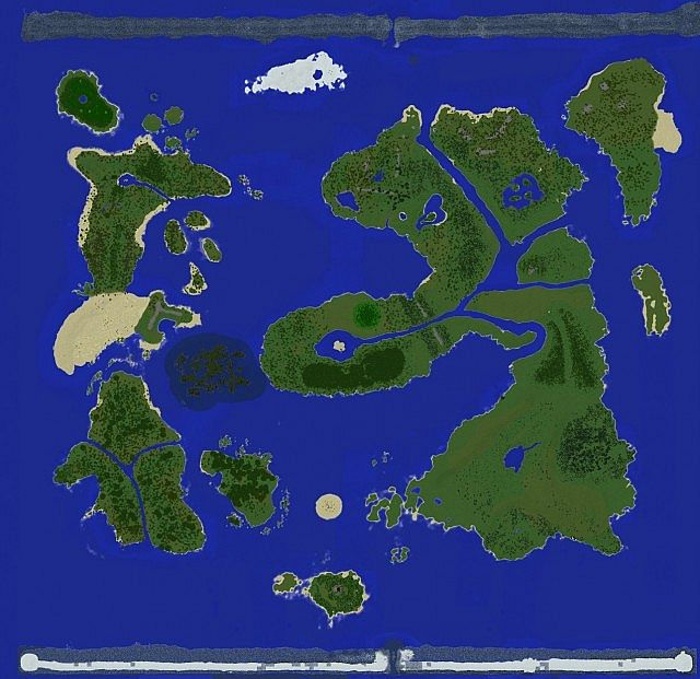 Rpg map custom 5000x5000 worldpainter customs trees download map viewed from a dynmap gumiabroncs Gallery