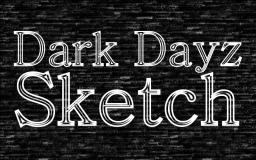 Dark Dayz Sketch Minecraft Texture Pack