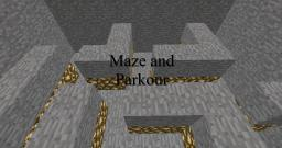 Maze and Parkour Minecraft Map & Project