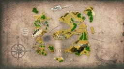 RPG MAP CUSTOM 5000x5000 WorldPainter + Customs Trees [DOWNLOAD] Minecraft Map & Project