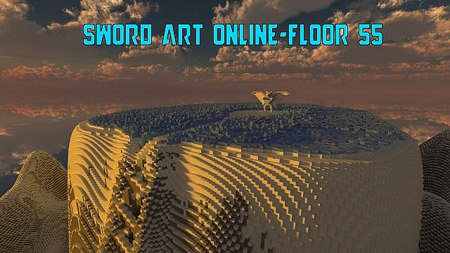 Sword Art Online Floor 55 Minecraft Project
