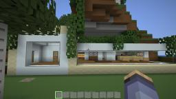 My lil' modern home. Minecraft Map & Project