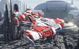 Defender-class Light Corvette Minecraft