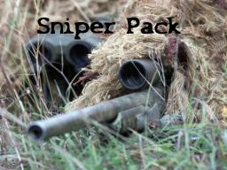 =[Sniper Pack]= Minecraft Texture Pack