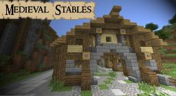 Medieval Stables by Madnes64 Minecraft Project