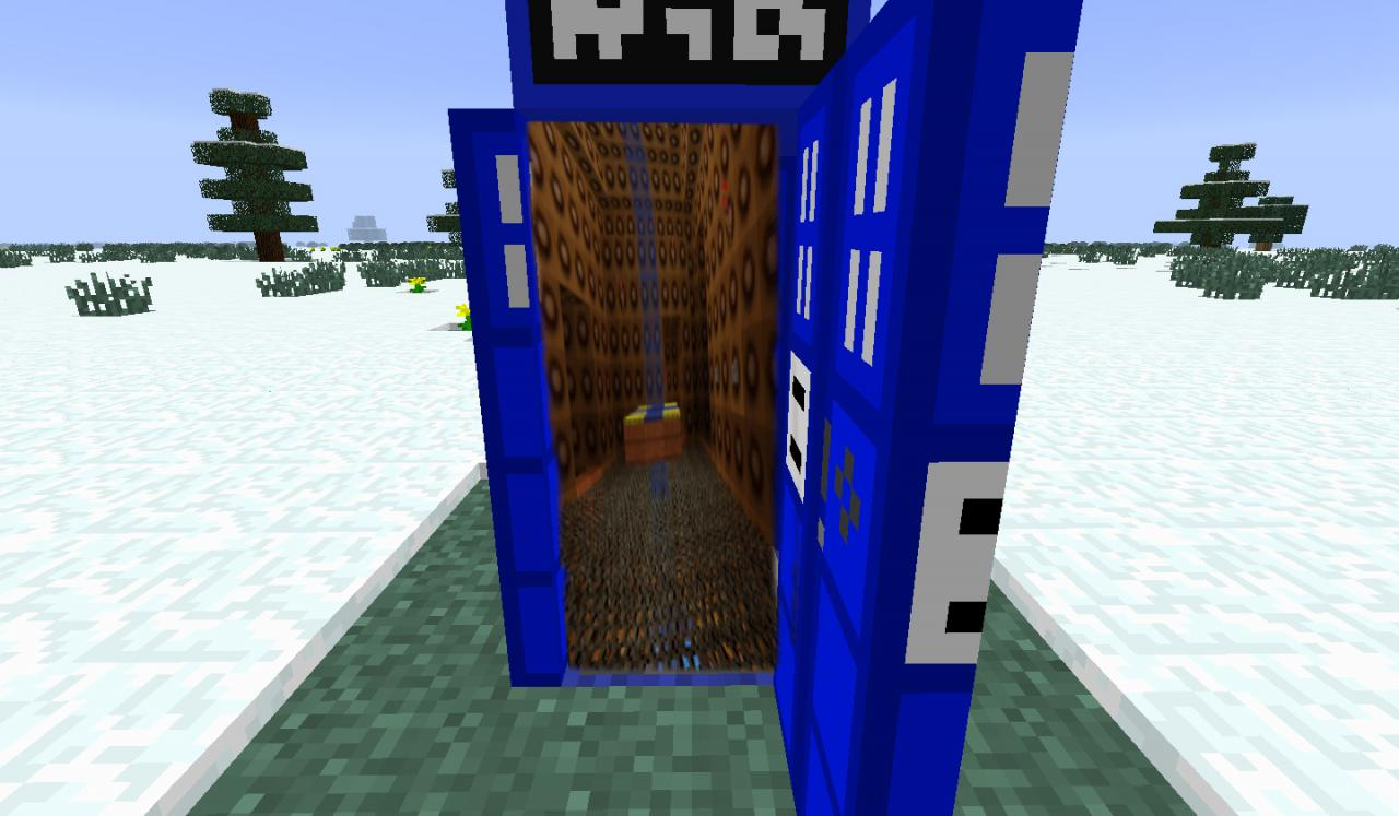Minecraft Doctor Who TARDIAW Map/Resource Pack Minecraft ...