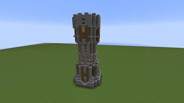 Medieval Wall Pack Schematics Minecraft Project