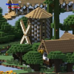 Survival Games Sky Island Minecraft Map & Project