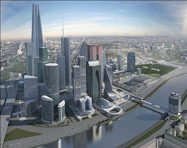 """Résultat de recherche d'images pour """"Moscow, development, new projects, Moscow city"""""""