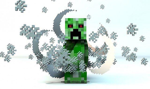 FREE] - Minecraft Cinema4D Creeper Rig Minecraft Project