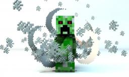 [FREE] - Minecraft Cinema4D Creeper Rig Minecraft