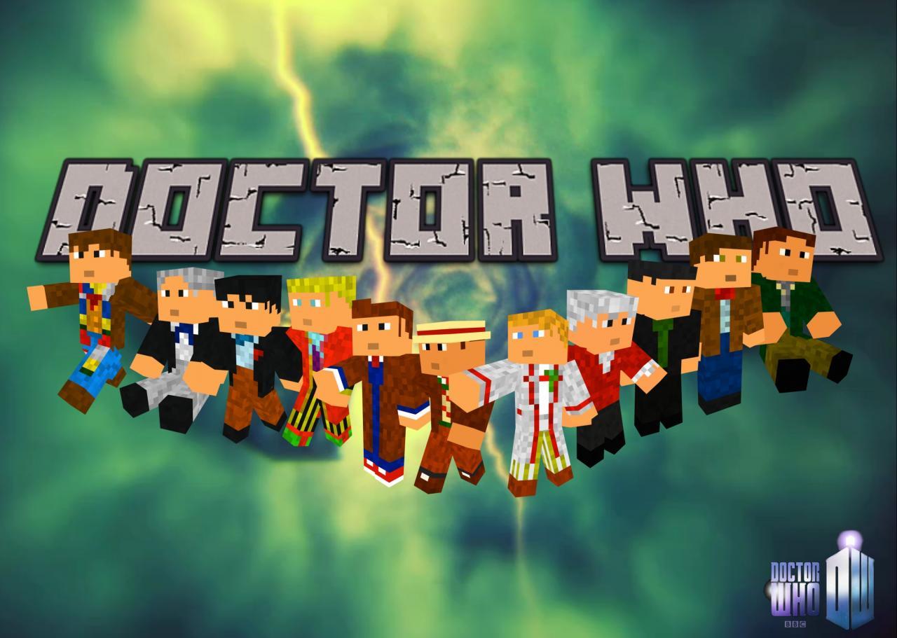 Minecraft Doctor Who Skin Series Minecraft Blog