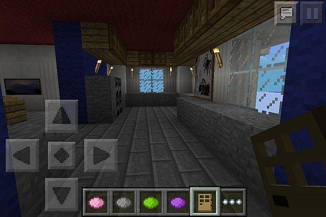 Quartz House (Detailed Interior) Minecraft Project