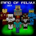 Mind of Feliax TP v0.10 (32x) (1.5.2) [Randomobs support] [Temporarily Discontinued] Minecraft Texture Pack
