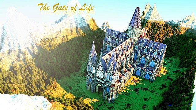 [Map] The Gate of Life — Очень красивая карта с собором, и прекрасной местностью.