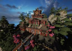 The Temple of Four Winds under Heaven Minecraft