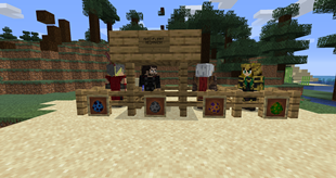 All 1.0 mobs.