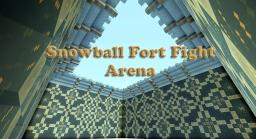 Frozen Arena - Snowball Fort Fight Minecraft Project