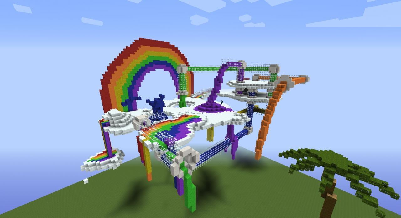 Rainbow Factory Minecraft Project