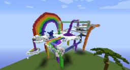 Rainbow Factory Minecraft Map & Project