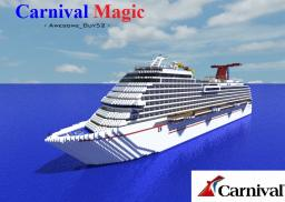 Carnival Magic Cruise Ship![1:1 Scale Full Interior!][+Download] Minecraft Map & Project