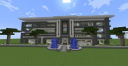 Redstone modern house 1.7 Minecraft Map & Project