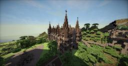 Medival Cathedral Minecraft Map & Project