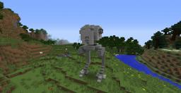 AT-ST (All Terrain Scout Transport) Minecraft
