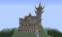 Castle pvp project w/ a friend (Made for our L&A Studios account) Minecraft Map & Project