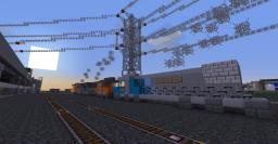 Trains in Greenfield Minecraft Map & Project