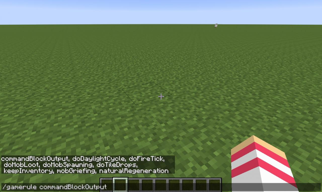 how to put keep inventory on in minecraft